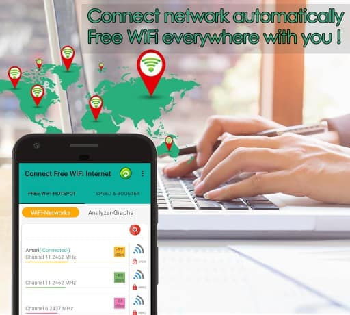 Free WiFi Connect Internet APK Download for Android
