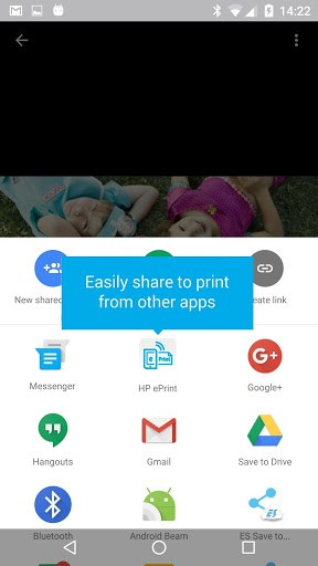 how to enable print over ride on hp printer