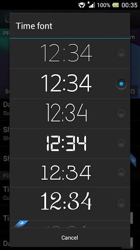 Digital Clock Widget Xperia | APK Download For Android