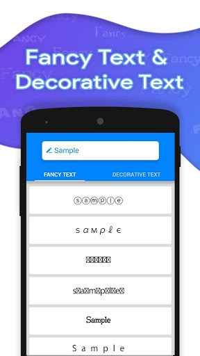 Fancy Text For Chat app for android | APK Download for Android