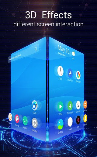 u launcher 3d live wallpaper free themes speed apk download for