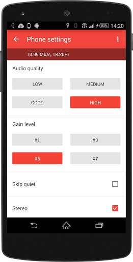 Wear Audio Recorder app for android | APK Download for Android