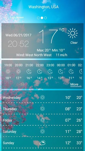 Weather forecast app for android | APK Download for Android