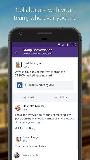 Yammer app for android | APK Download for Android