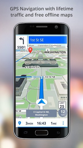GPS Navigation - Drive with Voice APK Download for Android