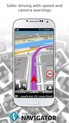 MapFactor GPS Navigation Maps APK Download For Android