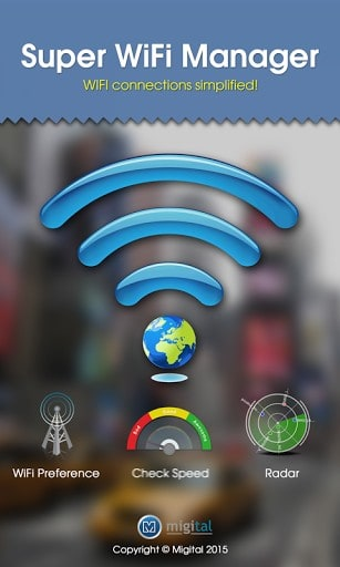 Super WiFi Manager APK for android | APK Download for Android