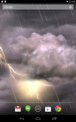 Thunderstorm Free Live Wallpaper Apk Download For Android