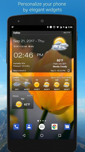 Weather & Clock Widget For Free   APK Download For Android