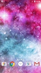 live wallpapers- Galaxy