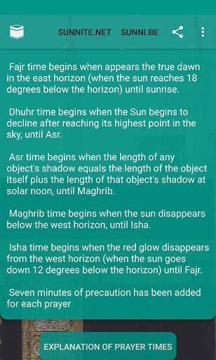 Islamic Prayer Times Qibla Salat Locator | APK Download for
