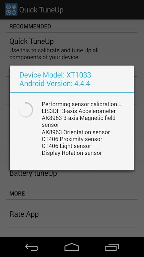 Quick TuneUp-Phone Calibration | APK Download for Android