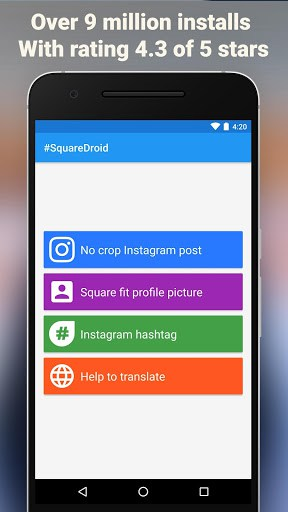 SquareDroid: Full Size Photo for Instagram and DP APK Download