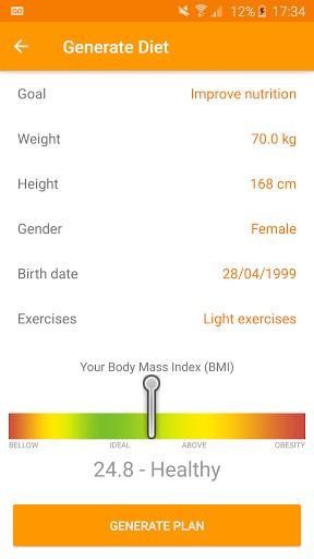 Technutri - calorie counter and carb tracker | APK Download