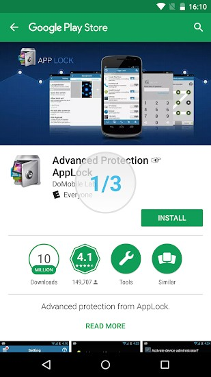 Advanced Protection - AppLock APK Download for Android