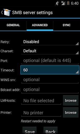 samba filesharing for android apk