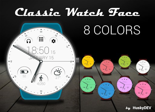 Classic Watch Face app for android | APK Download for Android
