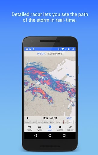 Dark Sky - Hyperlocal Weather APK Download for Android
