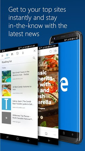 Microsoft Edge Browser APK Download for Android