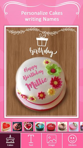 Name On Birthday Cake Photo On Birthday Cake Apk Download For Android