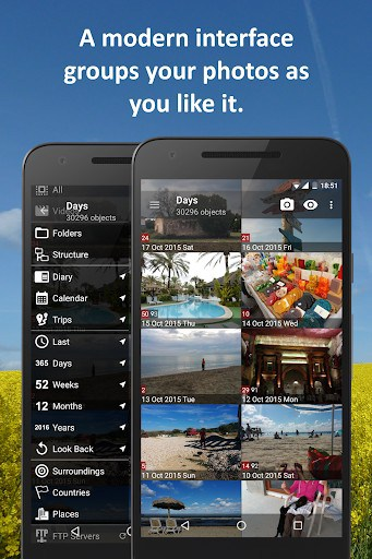 PhotoMap Gallery app for android | APK Download for Android