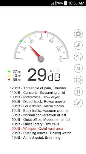 Sound Meter - Decibel app for android | APK Download for Android