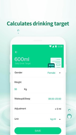 Water Drink Tracker - Water Time & Alarm | APK Download For Android