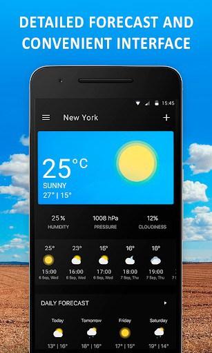 Weather App - Lazure: Forecast & Widget APK Download for Android