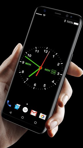 Digital Clock Live Wallpaper | APK Download For Android