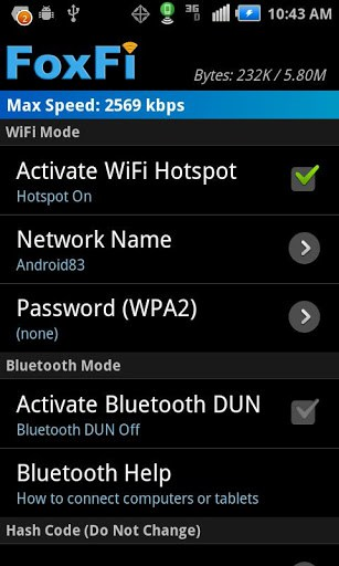 FoxFi (WiFi Tether) | APK Download For Android (latest version)