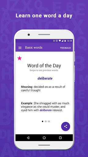 Vocabulary Builder: Improve English One Word A Day APK