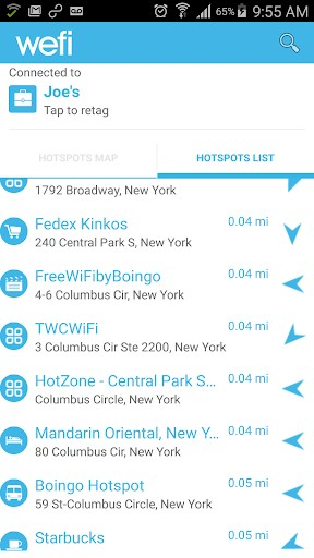 WeFi - Free WiFi Connect Tool | APK Download For Android
