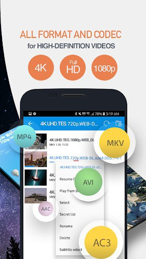 FIPE Player - Video Player All Format | APK Download for Android