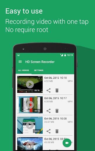 easy screen recorder no root apk
