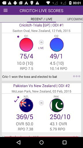 Live cricket scores cricitch APK Download for Android