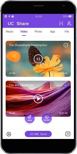 UC Share - Flash speed transfer for android | APK Download for Android