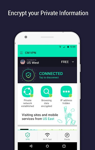 CM Security Open VPN | APK Download for Android