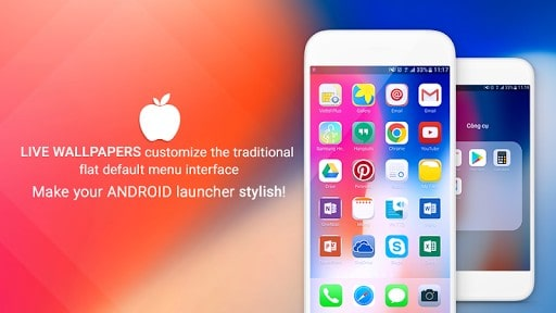iLauncher OS 11 - Phone X | APK Download For Android