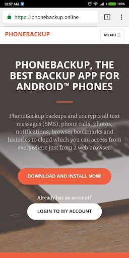 Phone Backup For Free | APK Download for Android