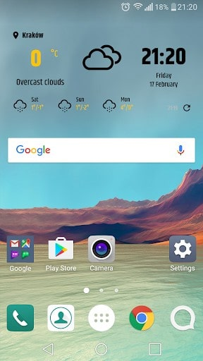 Simple weather & clock widget (No ads)   APK Download for Android