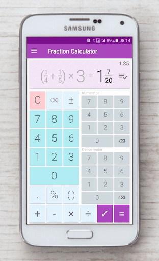 Fraction calculator: easy solve fractions APK Download for ...