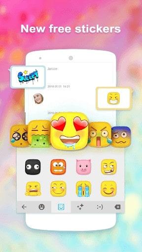download cute emoji keyboard apk
