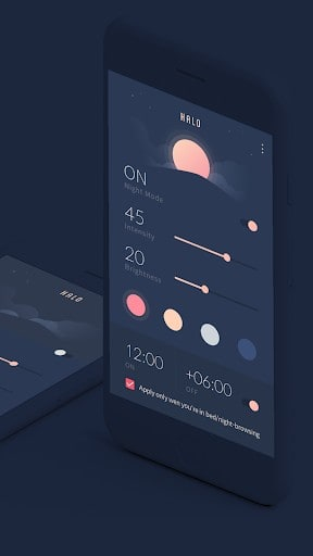 HALO - Bluelight Filter, Night Mode, Anti-Glare | APK
