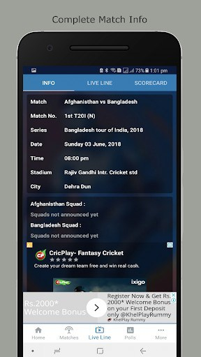 Cricket Live Line : CLL | APK Download for Android