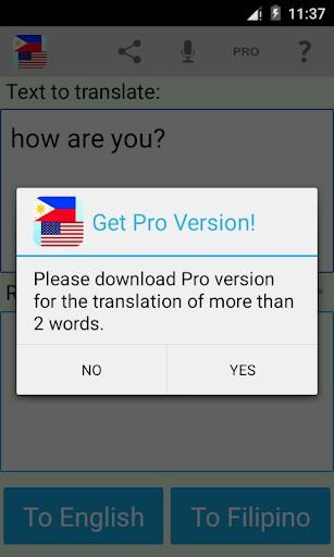 Filipino English Translator | APK Download for Android