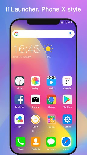 ii Launcher for Phone X & Phone 8 | APK Download for Android