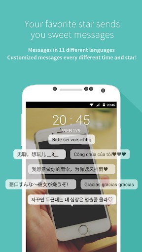 Mydol- Lockscreen, Virtual chat, Chat bot | APK Download for