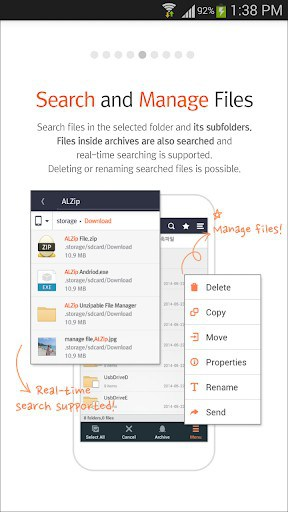 ALZip - File Manager & Unzip & Archive APK Download for Android