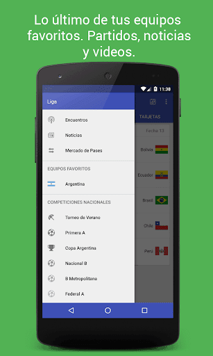 Liga - Soccer results Free | APK Download for Android