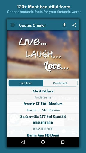Quotes Creator APK Download For Android New Quote Creator